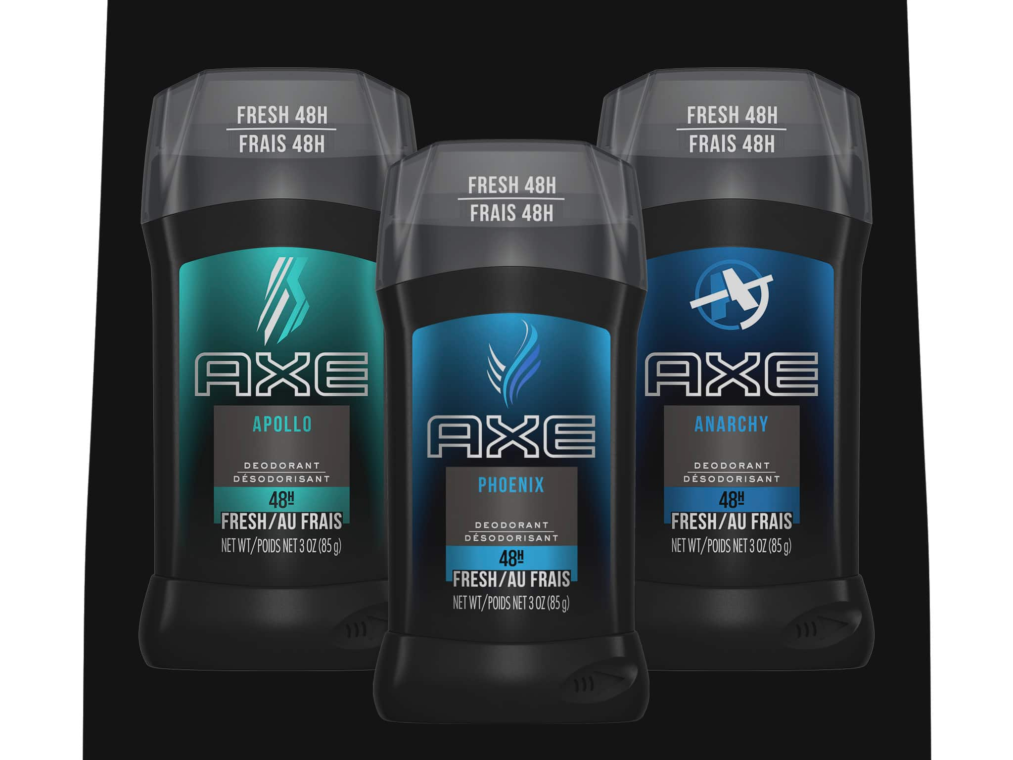 Axe black sprays