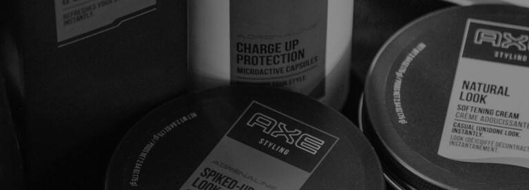 Some Axe products.